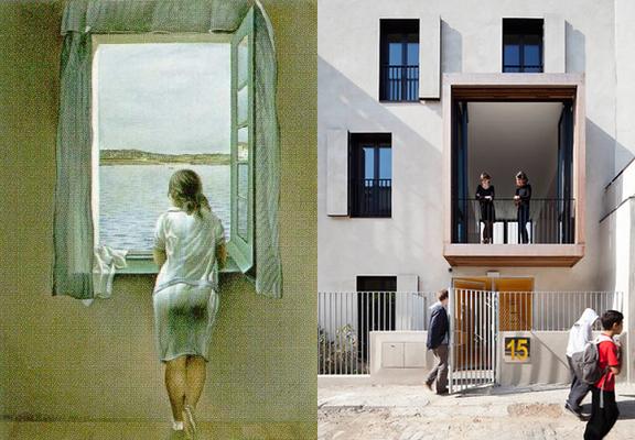 Les Finestres i l'arquitectura, un article de Sese Jover Interiors