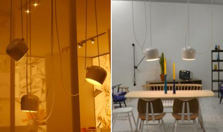 La llum i la il·luminació: darreres tendències en decoració i interiorisme vistes a la Fira de Milà. Una làmpada que aporta flexibilitat, línies modernes, senzilles i caràcter lleugerament industrial. Un article de @SeseJover