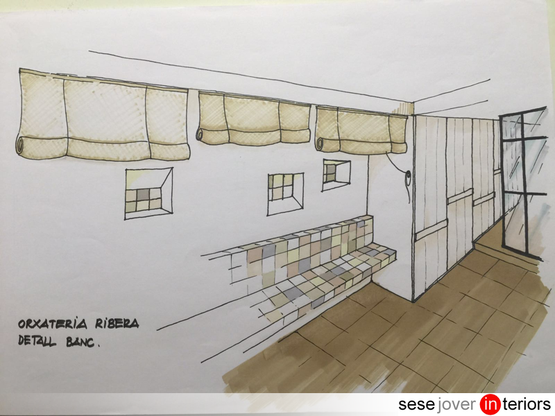 Projecte de reforma local comercial: Orxateria Ribera a Terrassa